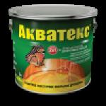 АКВАТЕКС Защитно-декоративное покрытие для древесины белый 0.8л