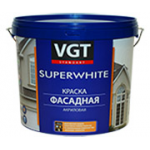 "Краска акриловая ""SUPERWHITE"" ВД-АК-1180 фасадная база ""С"" 13кг"