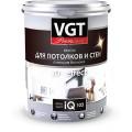 "Краска акриловая ""Premium IQ 103"" для потолков и стен сияющая белизна 0.8л"