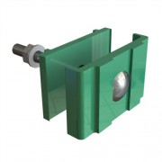 Комплект крепежа для секции зеленый (RAL 6005)