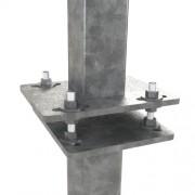 Комплект крепежа для прямоугольного фланца