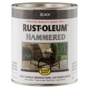 Эмаль антикоррозионная с молотковым эффектом Stops Rust® Hammered Черный