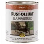 Эмаль антикоррозионная с молотковым эффектом Stops Rust® Hammered Медный