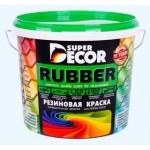 """Резиновая краска Super Decor цвет """"Белоснежный"""""""